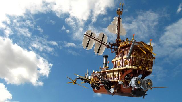 """Lego Steampunk Airship """"Behemoth"""""""