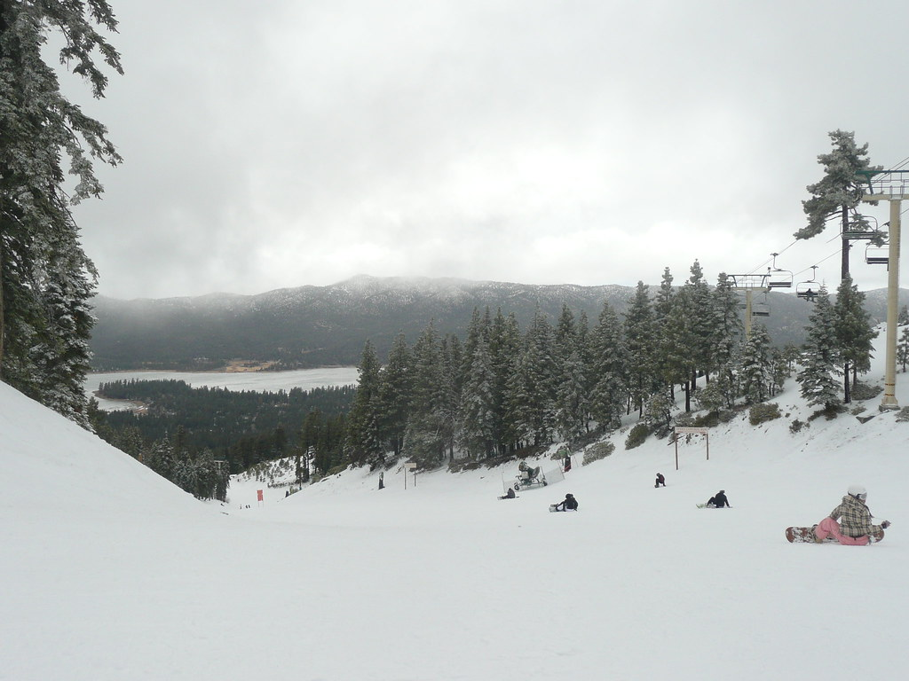 Beautiful views from Snow Summit