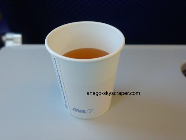 ANA国内線のスープ