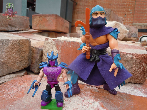 tOkKUSTOM :: 88 SHREDDER - MEGA BLOKS Mini v / ..with original 88 SHREDDER