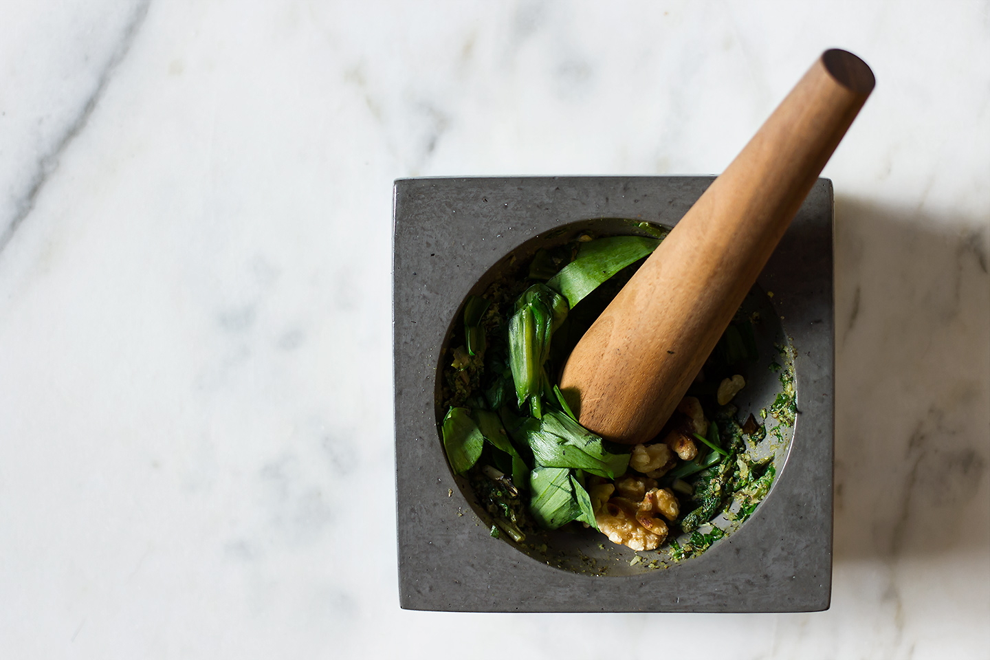 Charred Ramp Pesto