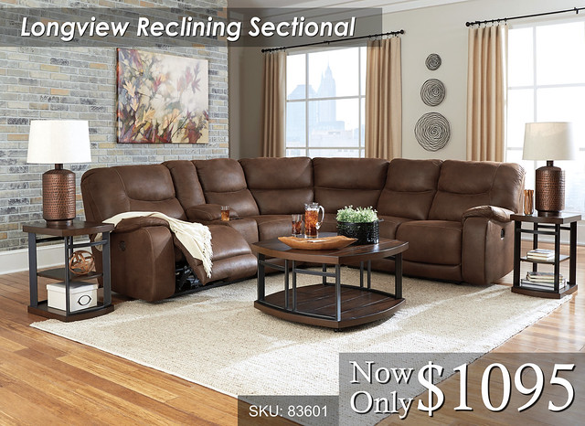 Lonview Reclining Sectional 83601