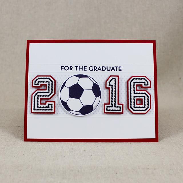 2016 Soccer Grad Card