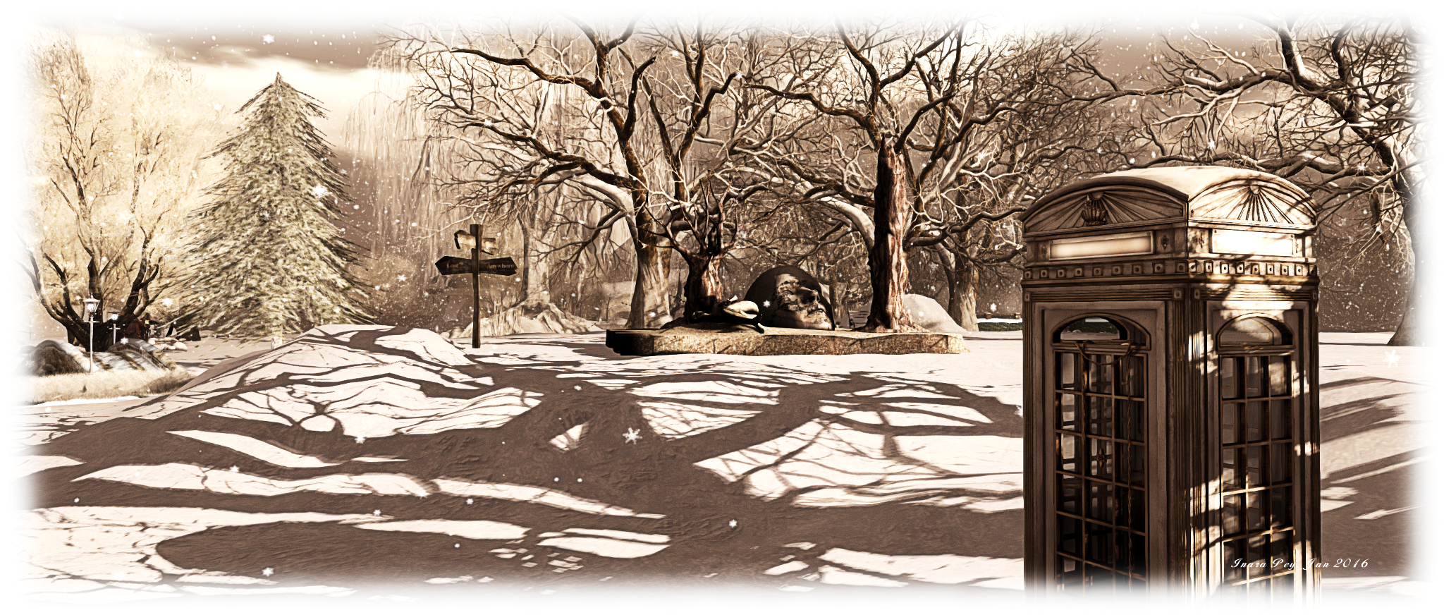 Gates of Memories; Inara Pey, January 2016, on Flickr