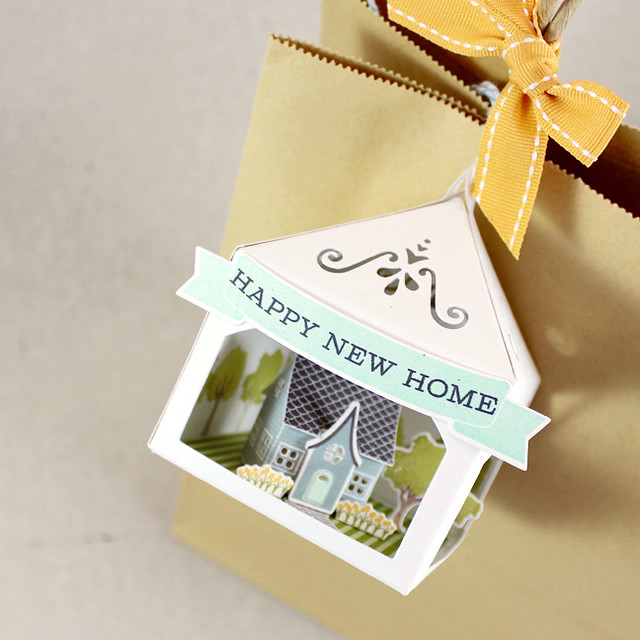 Petite Places Happy New Home 3D Tag