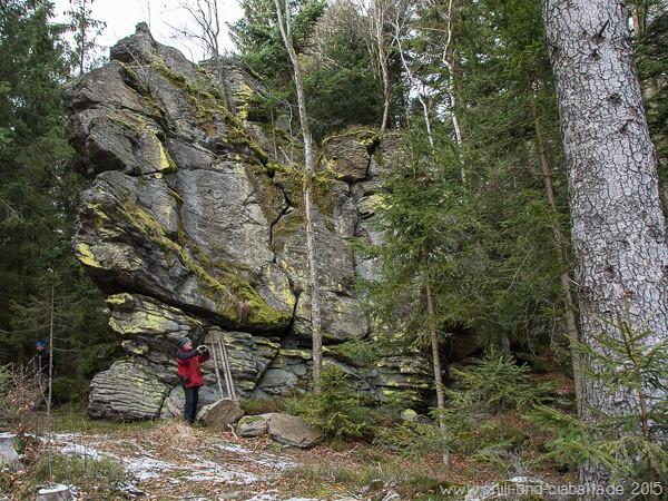 Einsamer Bergriegel im Kaltecker Land