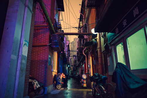 Dark Alley, Mysterious Colors