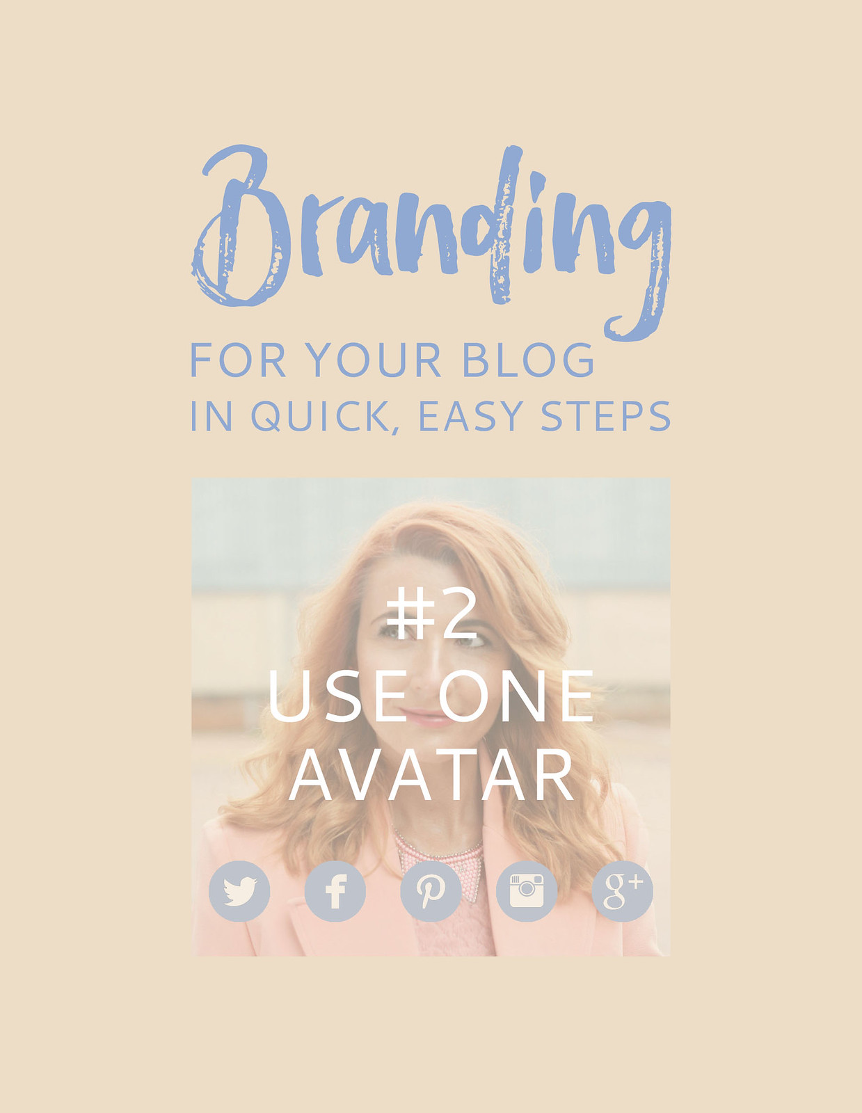Blogging Tips | Branding For Your Blog in Quick, Easy Steps: #2 Use ONE Avatar