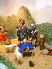 Pesebre de marionetas en la Casa Juan Félix Sánchez   #Mérida