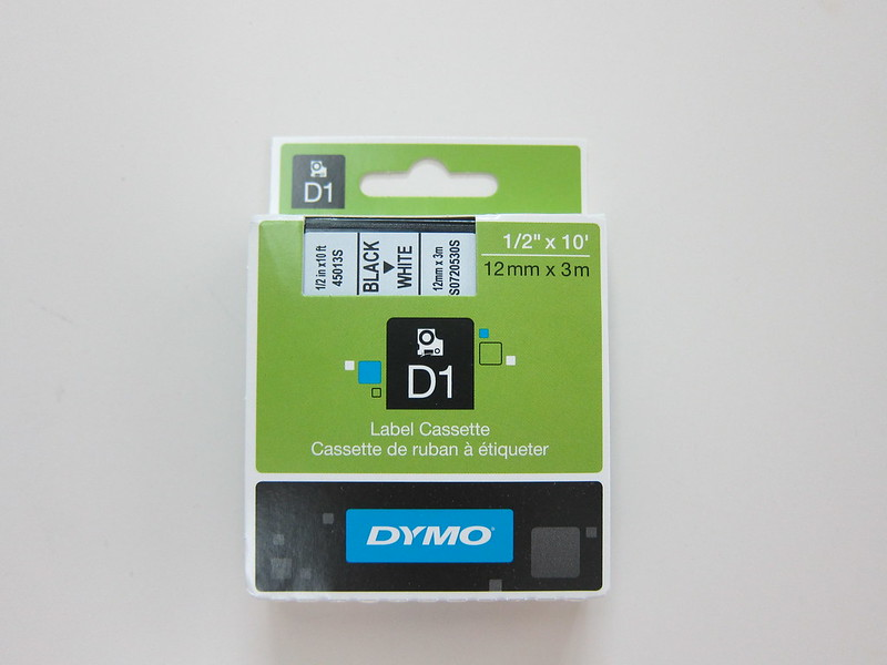 DYMO LabelManager 280 - D1 Starter Label Cassette - Packaging Front