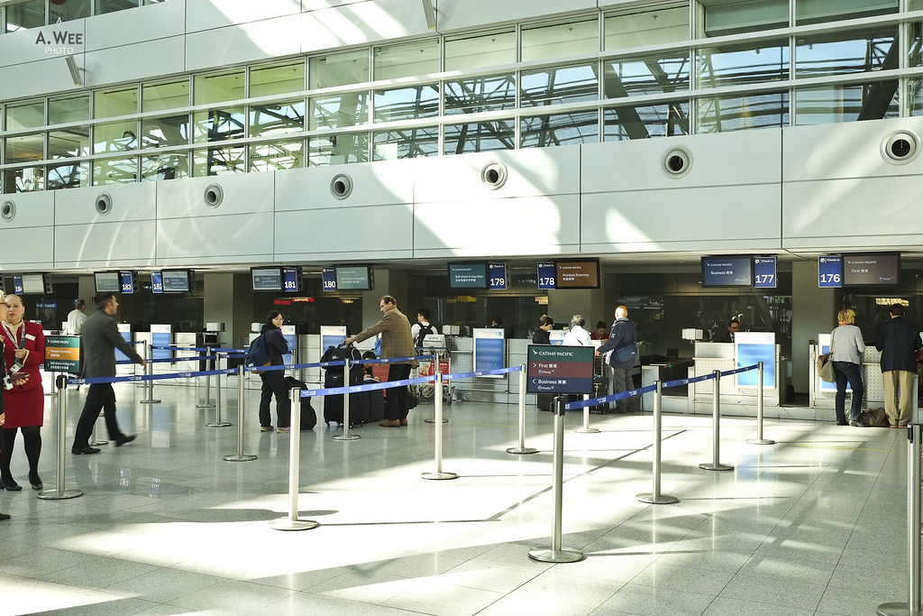 CX Check-in counters