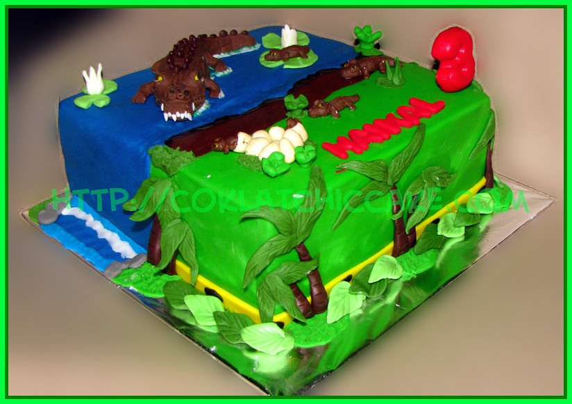 Cake Buaya / Cake Crocodile