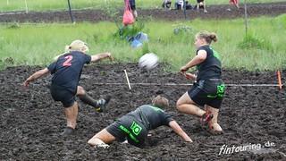 Moorfußball / Swamp Soccer / in Finnland Ukkohalla
