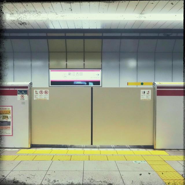 Subway platform gates