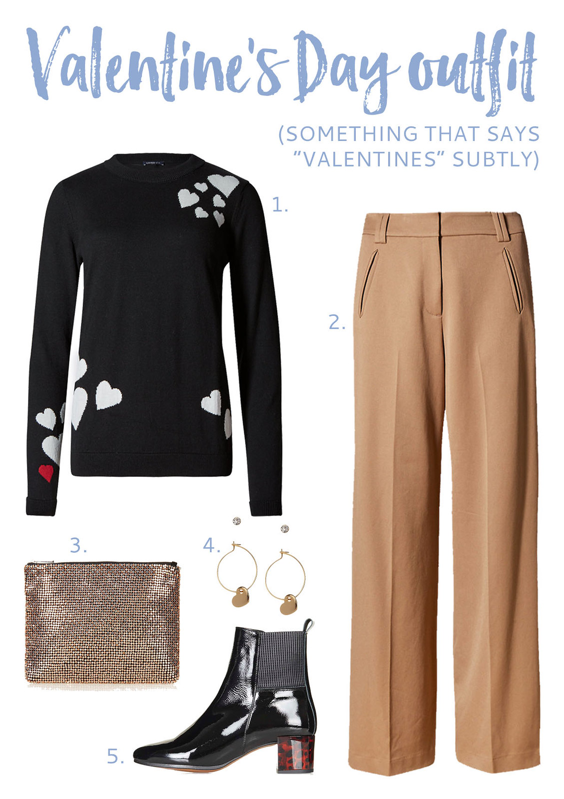 "Valentine's Day Outfit | Something that says ""Valentine's"" subtly"
