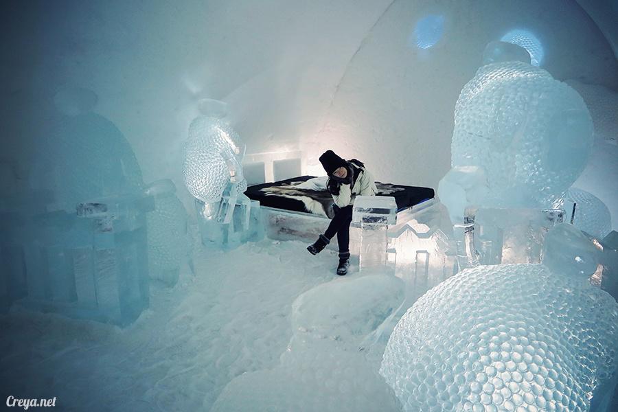2016.02.25 ▐ 看我歐行腿 ▐ 美到搶著入冰宮,躺在用冰打造的瑞典北極圈 ICE HOTEL 裡 23.jpg