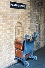 Kings Cross Paltform 9 3/4 Harry Potter