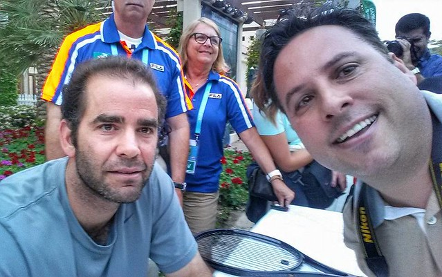Tony and Pete Sampras