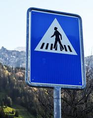 Suave Crossing Man
