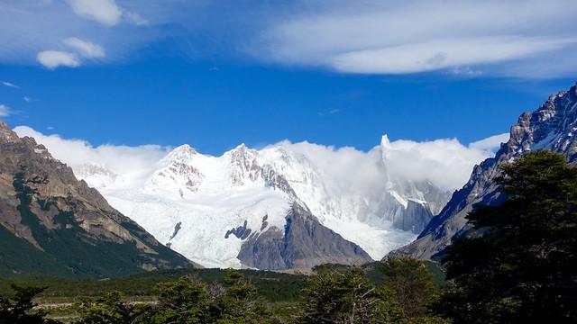 Cerro Torre in the clouds