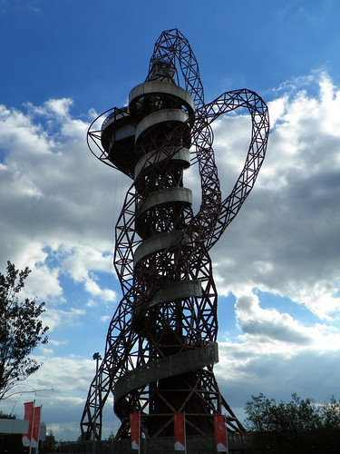 GOC Walthamstow to Stratford 233: ArcelorMittal Orbit, Queen Elizabeth Olympic Park