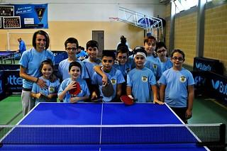 Tennis tavolo i giovani dell'ASD Ennio Cristofaro