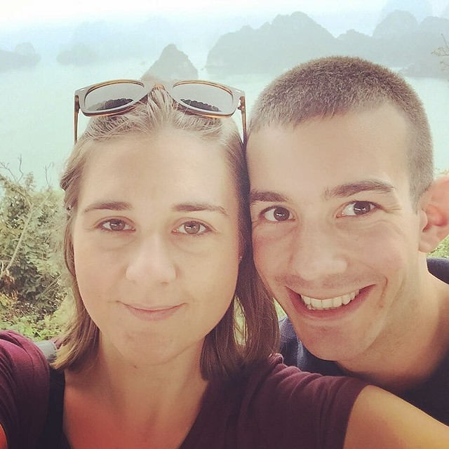 Almost a week since we climbed to the top of one of the many little islands of Ha Long Bay.
