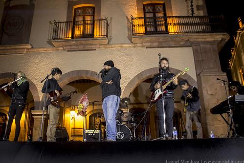 Presentación Pachedub @ Plaza de Armas