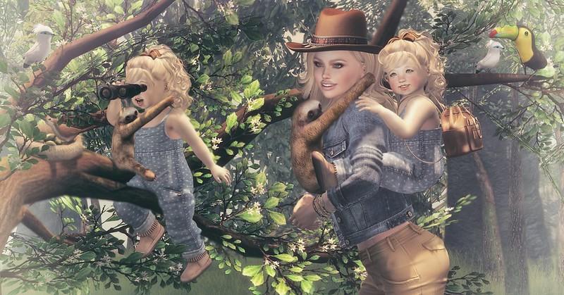 Amelie et les petites: The explorers