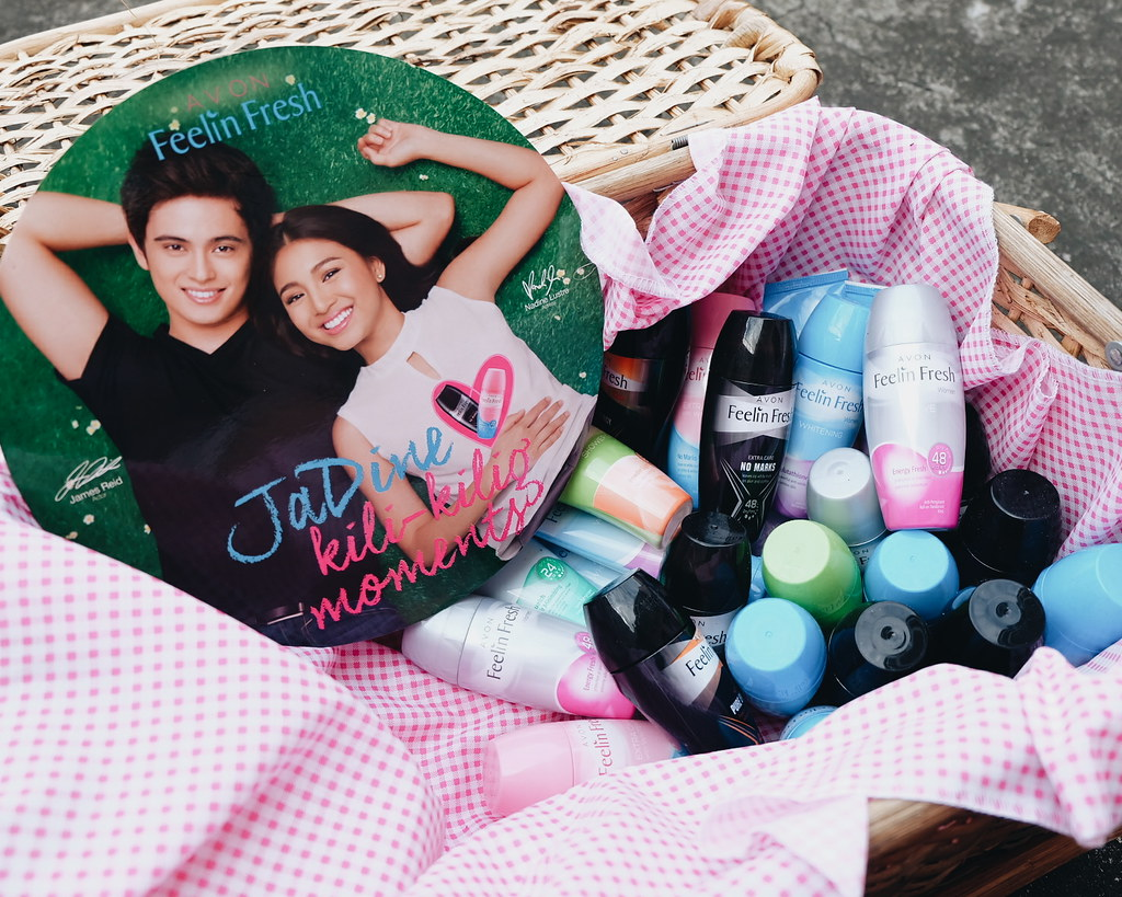 james reid and nadine lustre avon philippines
