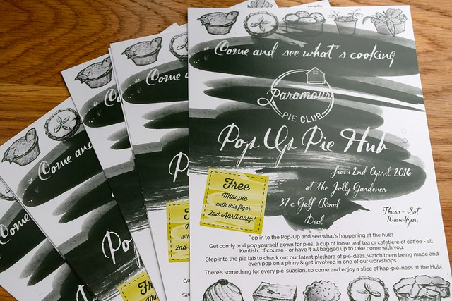 Launching Paramour Pie Club's Pie Hub in Deal | www.rachelphipps.com @rachelphipps