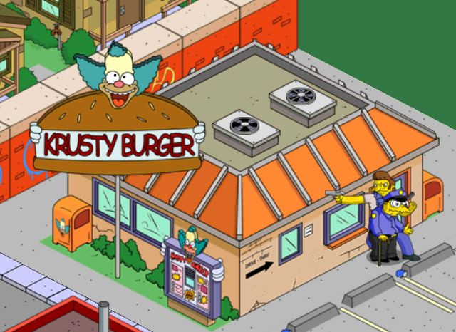 Tapped Out: Snake Uses Hans Moleman As A Human Shield