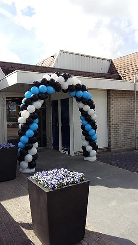 Ballonboog 6m Aangenaam Badkamers Houten