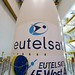 EUTELSAT 65 West A mission logos applied to Ariane 5 fairing
