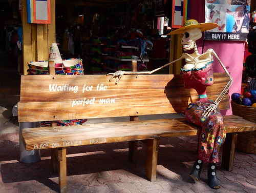 Playa del Carmen - waiting for the perfect man