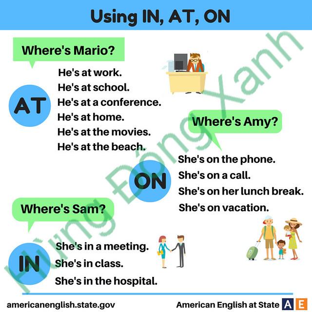 thứ tự ngữ pháp trong tiếng Anh