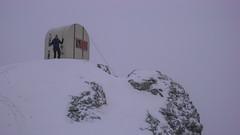 Schron Biv. Parravicini 3183m - Albert.