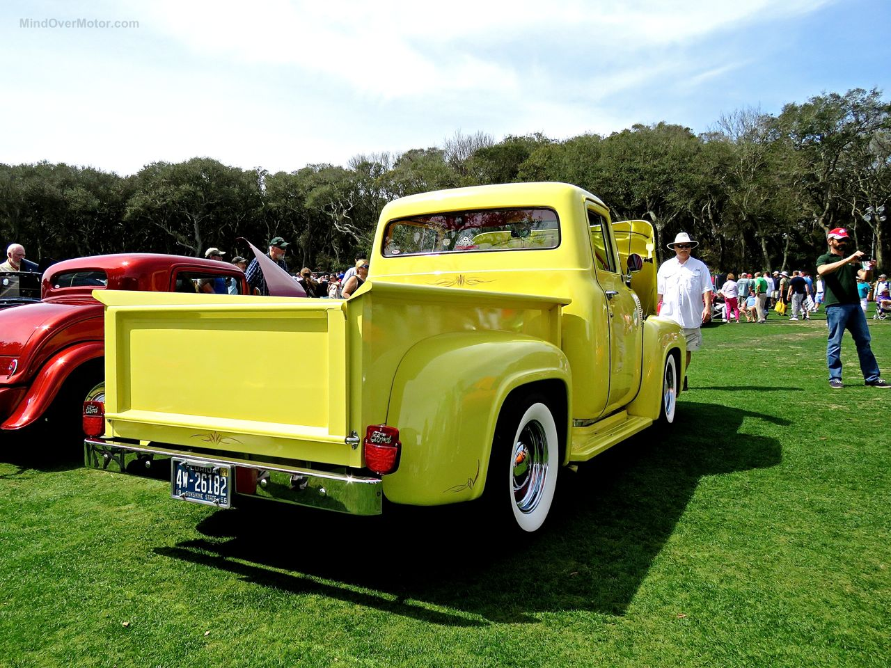 Custom Ford F-100 at Amelia Island 9