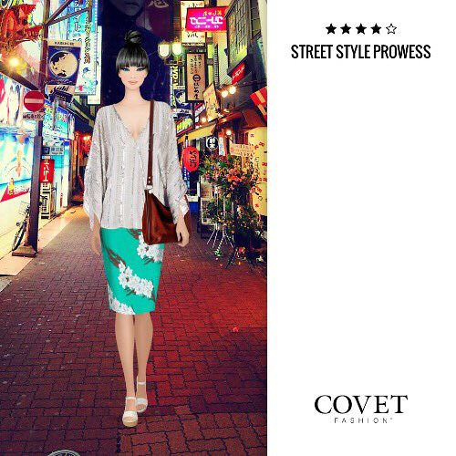 Street Style Prowess Covetfashion Paper Doll Book