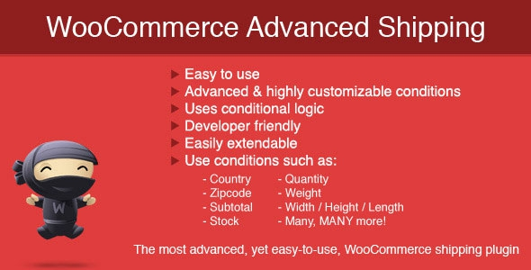 WooCommerce Advanced Shipping v1.0.10