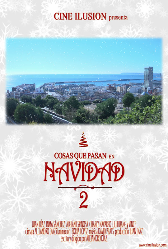 """cortometraje """"Cosas que pasan en Navidad 2"""" (2014)"""