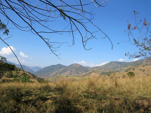Paisaje de Andes, Antioquia.