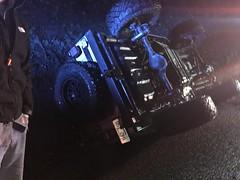 upsidedown Jeep!