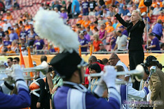 Dr. Mallory Thompson Conducts the University Hymn at the @OutbackBowl