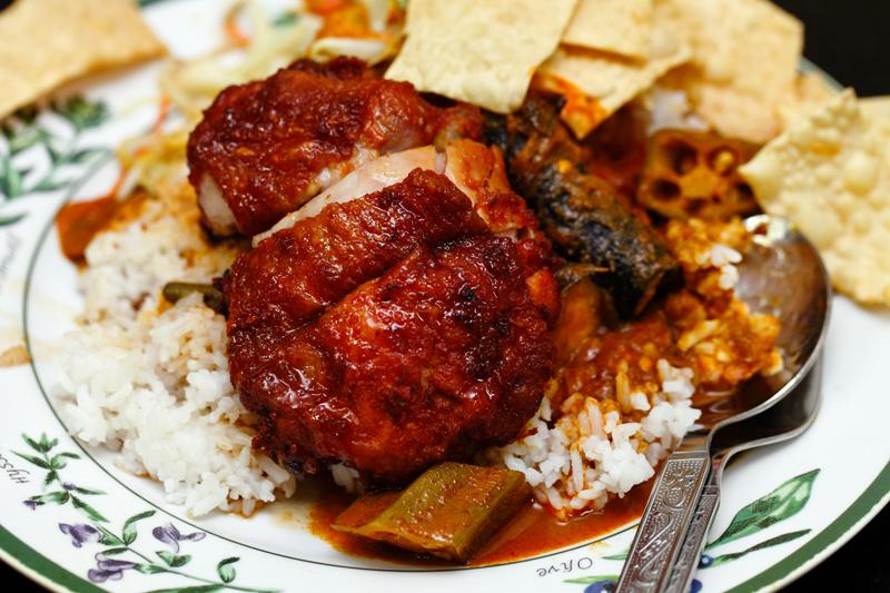 ZK Nasi Campur Ayam Goreng