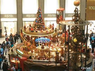 中環 置地廣場 central hongkong 熊 2015 CIRCLEG 聖誕裝飾 (9)