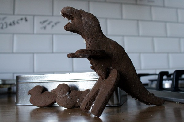 3D gingerbread dinosaurs - Misericordia