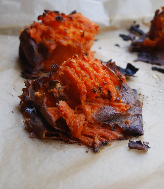 Smashed Sweet potatoes 4