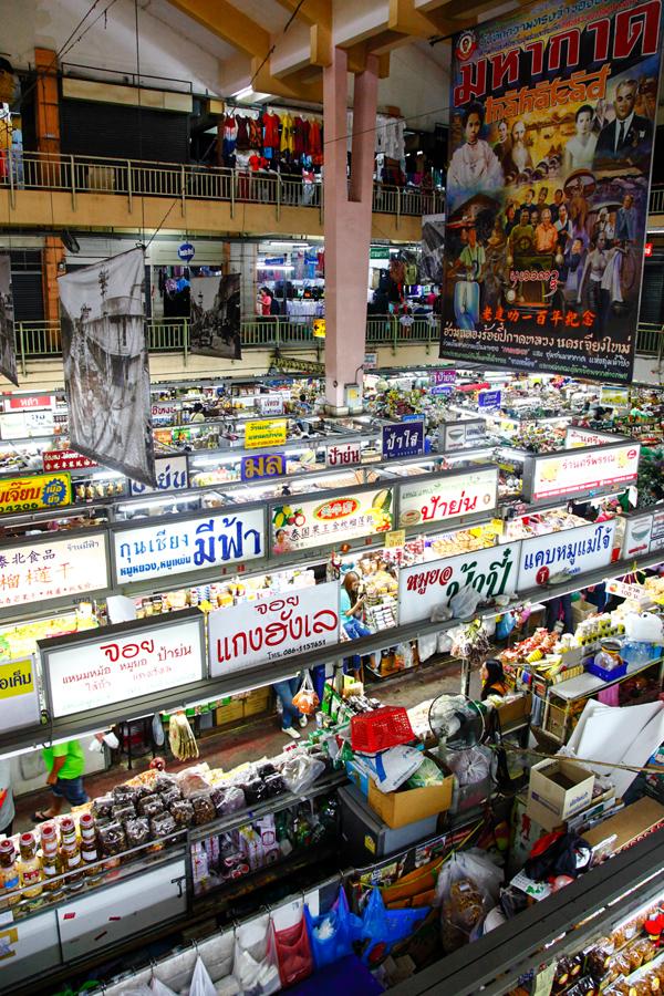 Warorot Market Food Stalls Chiang Mai