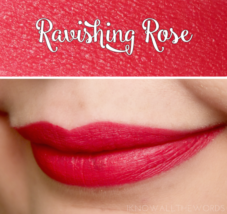 Avon True Colour Perfectly Matte Lipstick Ravishing Rose